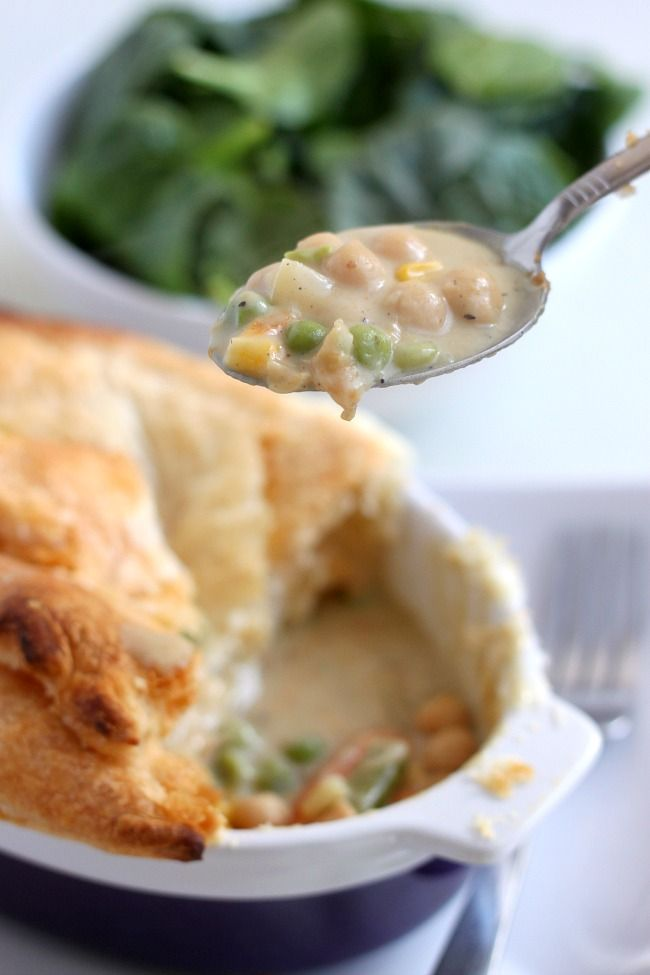 Curried chickpea pot pie - Amuse Your Bouche