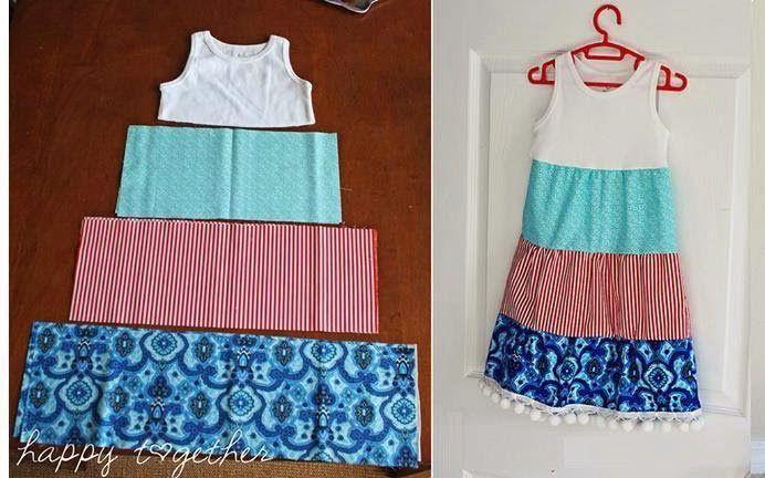 Быстро и легко сшить детское платье 73