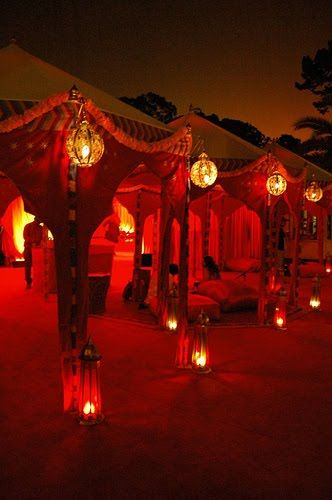 sensual adult red lantern relaxation