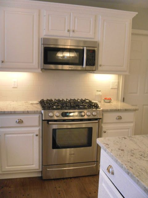 River White Granite With White Cabinets Home Pinterest