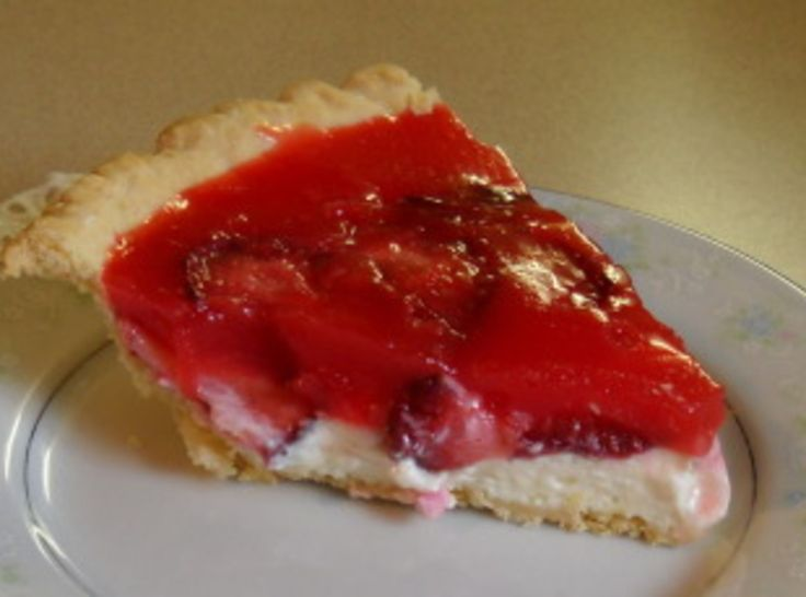 Strawberry Cream Cheese Pie (for A Pie Party) Recipe — Dishmaps