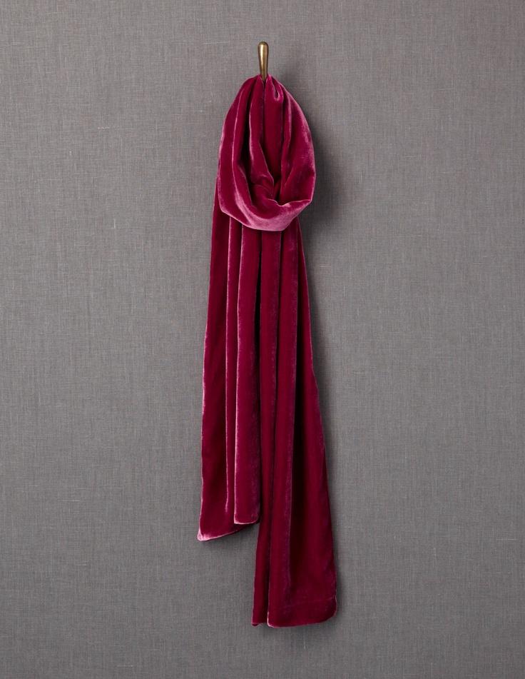 velvet scarf boden accessorise x