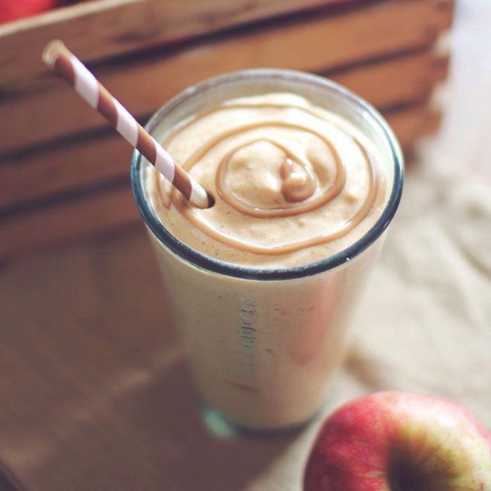 caramel apple pie protein shake | drinks | Pinterest