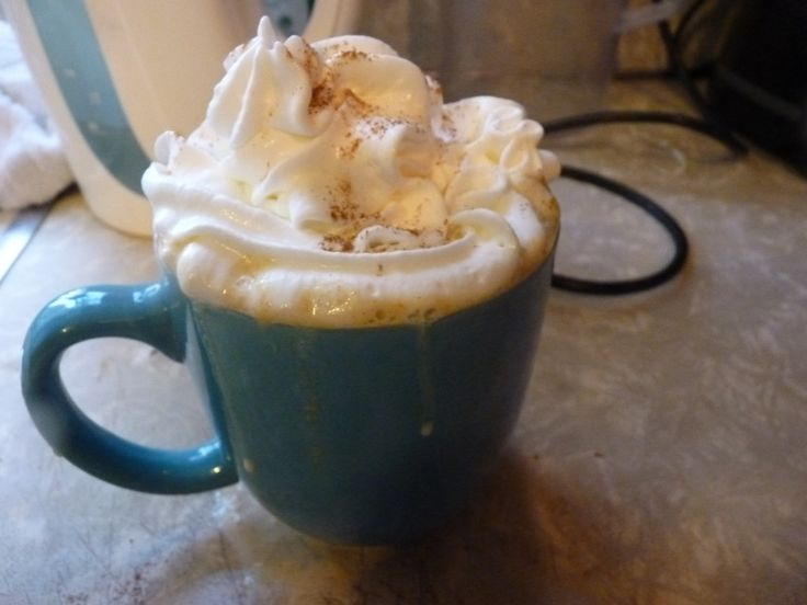 Pumpkin Spice White Hot Chocolate | Frappes & Lattes & Hot Chocolate ...