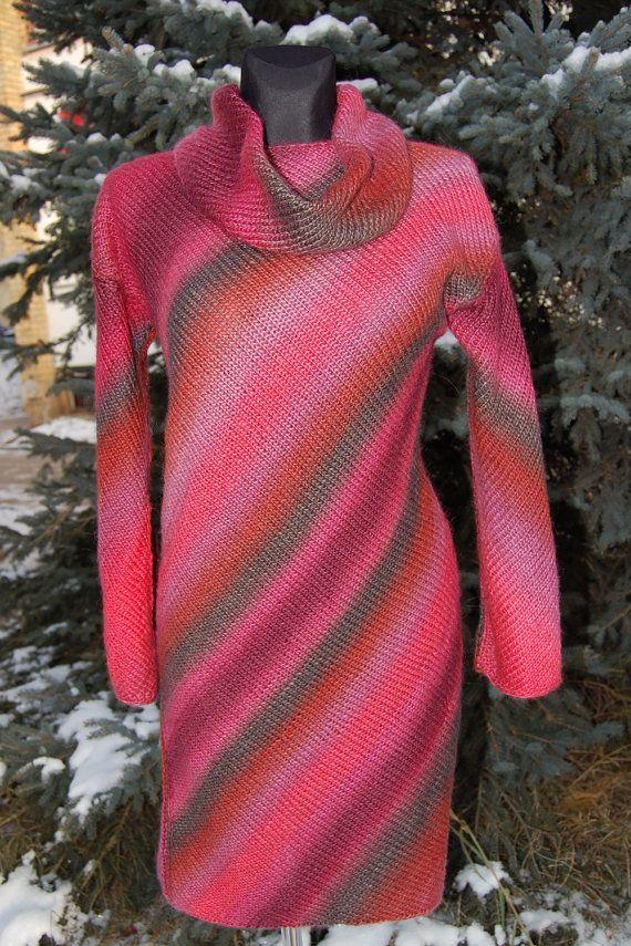 Вязание скандинавского платка спицами