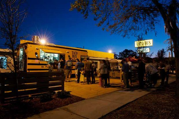 Taco bus | St Petersburg Fl | Pinterest