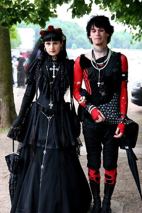 Would a male goth date a non-goth girl? - Quora