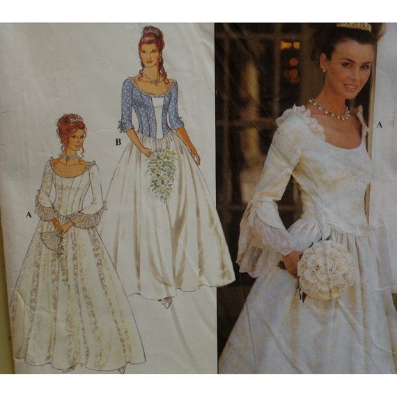 17th century style wedding gown pattern fitted bustier for 17th century wedding dresses