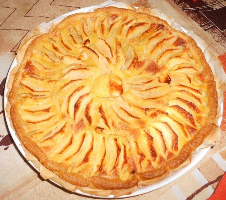 Tarte Aux Pommes | Sur mon blog | Pinterest