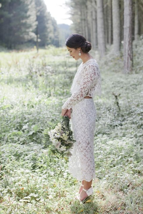 chic bridal style