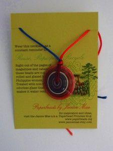 Video Tutorial - Paper Saucer Beads!