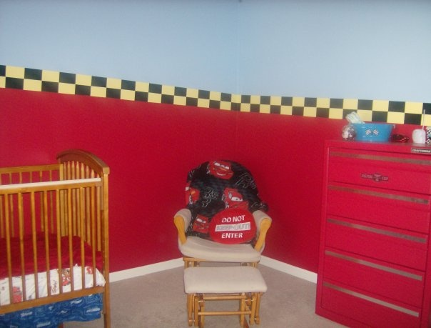 Cars themed baby room | Kids