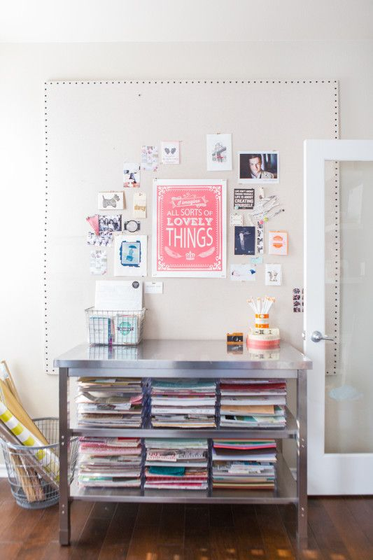 Huge, Easy to Make, Inexpensive, DIY Pinboard from Handmade Mood
