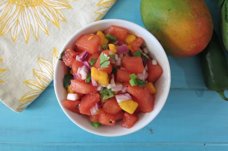 More like this: watermelon salsa , watermelon and salsa .