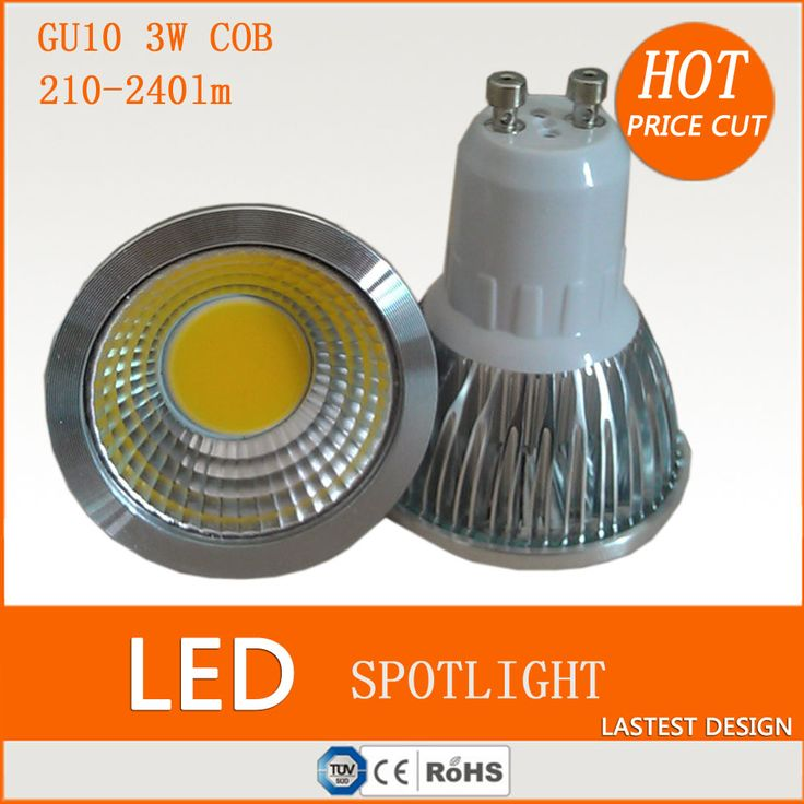 Crompton - Non Dimmable LED - 5W GUCOB Cool White Deg