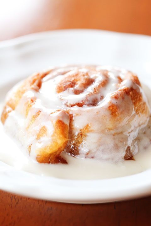 Best Ever Easiest Cinnamon Buns. | Bon Appetit | Pinterest