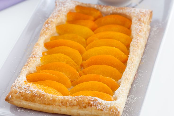 Peach Galette Recipe - Taste.com.au | French Wedding Shower Party | P ...