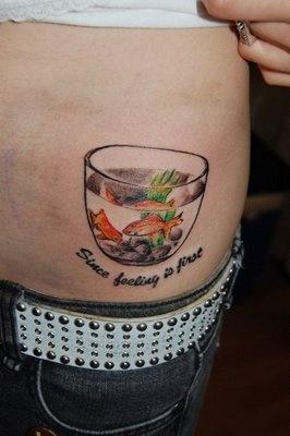 Fish Bowl Tattoo  Pinterest