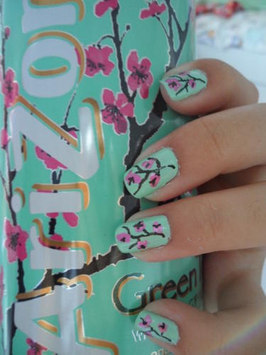 ice tea nails