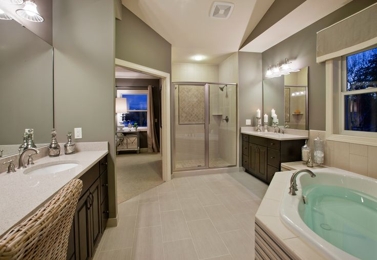 Toll Brothers Master Bath Interior Design Pinterest