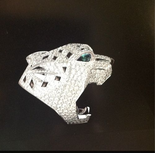 Cartier panther ring replica