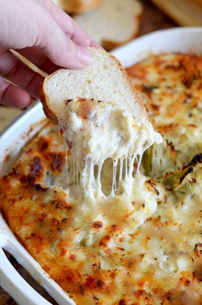 Cheesy Crab and Artichoke Dip | Recipe