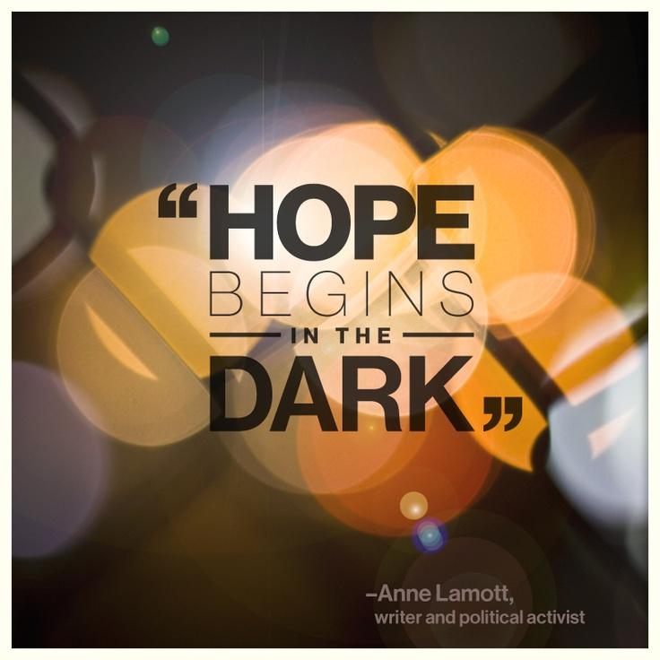 Inspiration from Anne Lamott