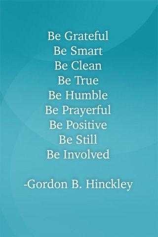 Gordon B. Hinckleys 9 Bes Cool quotes & sayings Pinterest