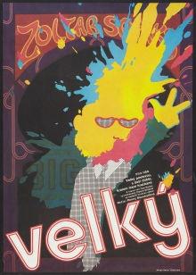 This is the Czech movie poster for Big, starring Tom Hanks. No FAO Schwartz schmaltz here!