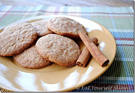 Skinny Snickerdoodles. I really liked these, but my husband did not ...