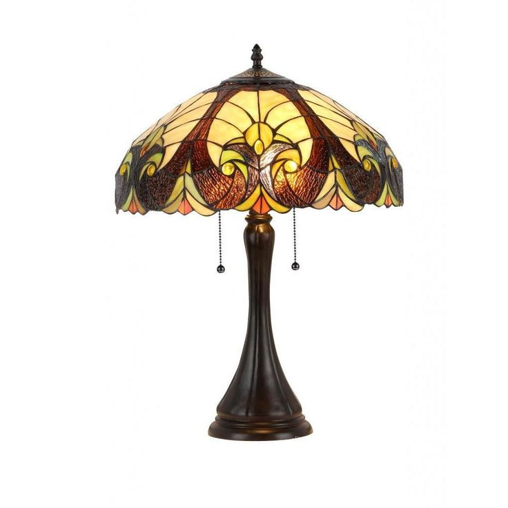 unique tiffany style table lamp featuring an elegant victorian style. Black Bedroom Furniture Sets. Home Design Ideas