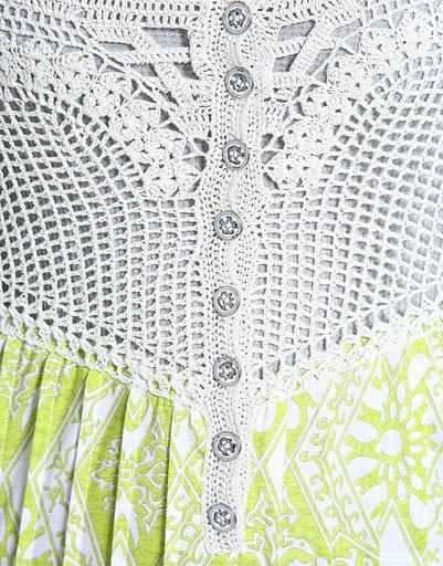 Crocheted bodice