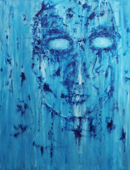 Feeling of emptiness Painting - Katerina Apostolakou