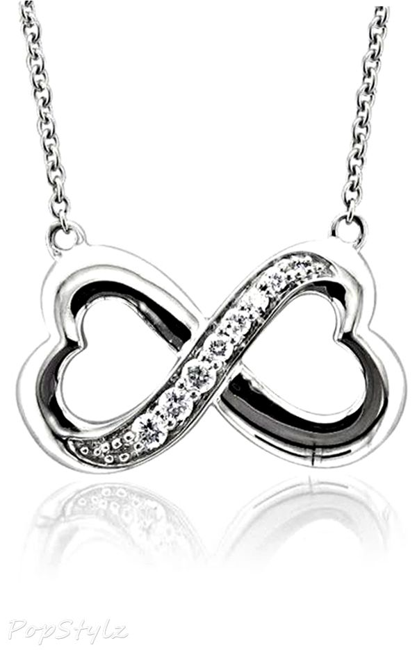 diamond infinity heart necklace clothes for gals pinterest. Black Bedroom Furniture Sets. Home Design Ideas