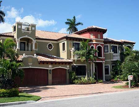 Two story luxury mediterranean home plan home design for Two story mediterranean house plans