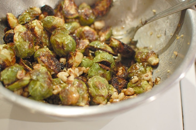 Reckless Abandon: Maple Dijon Roasted Brussels Sprouts with Black ...