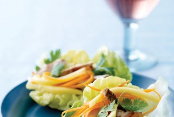Mini Chicken Lettuce Wraps | Bridal | Pinterest