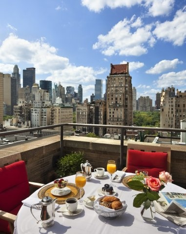 Balcony @ Plaza Athenee, New York