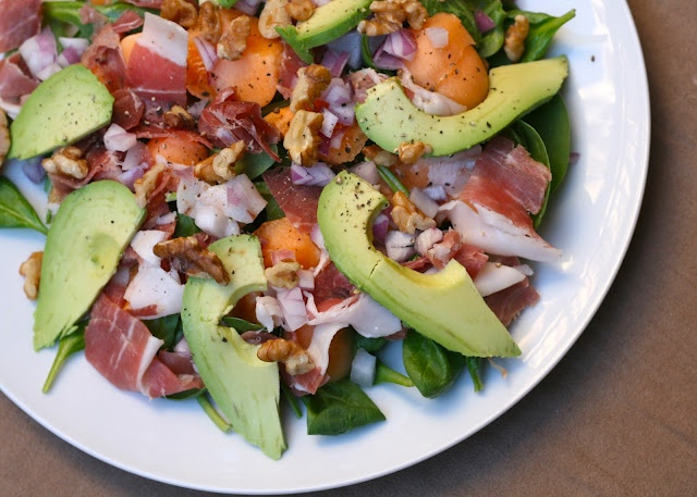 prosciutto melon salad | Favorite and Must Try Healthy Recipes | Pint ...