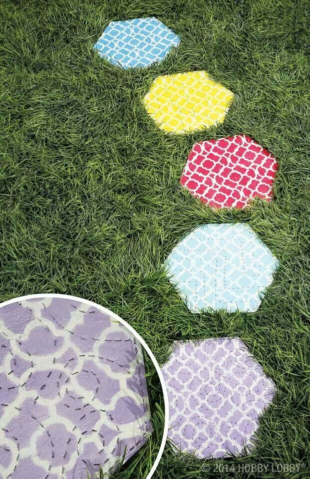 Diy Stepping Stone Crafty Pinterest