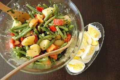 Provençal Potato Salad | i'm hungry | Pinterest
