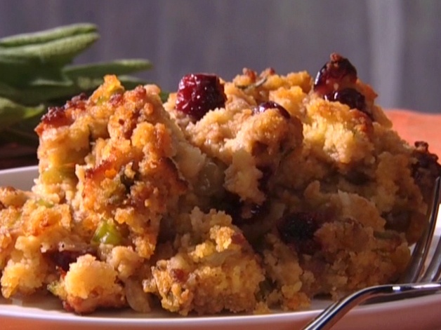 Sausage Cornbread Stuffing from FoodNetwork.com for Thanksgiving