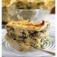 Winter Greens and Walnut Lasagna | Vegetarian | Pinterest