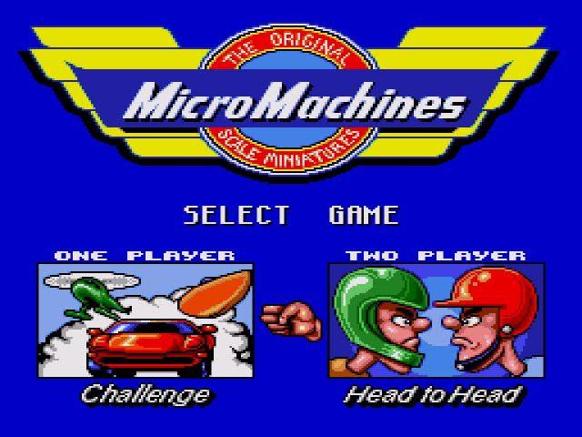 Micro Machines #RetroGaming