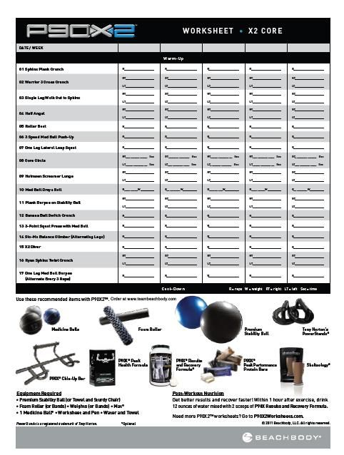 p90x2 worksheets body for life p90x pinterest. Black Bedroom Furniture Sets. Home Design Ideas