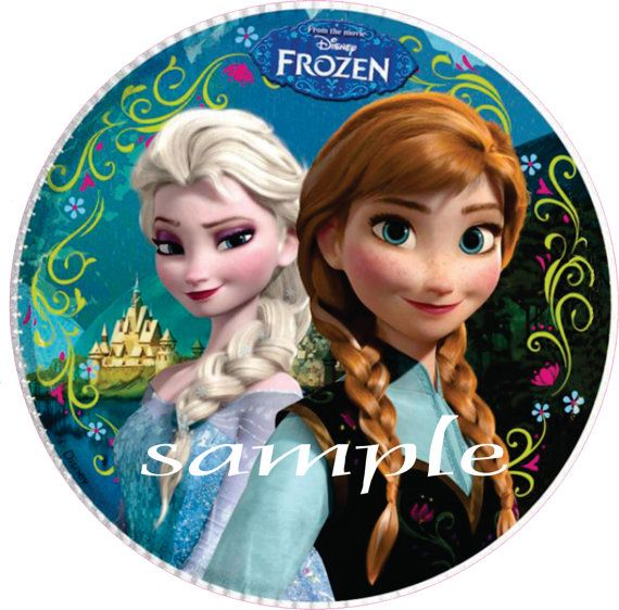 Edible Cake Pictures Frozen : DISNEY FROZEN Edible Image Personalized Custom Cake ...