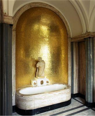 Go For The Gold. Xk #kellywearstler #gold #interior #home #design