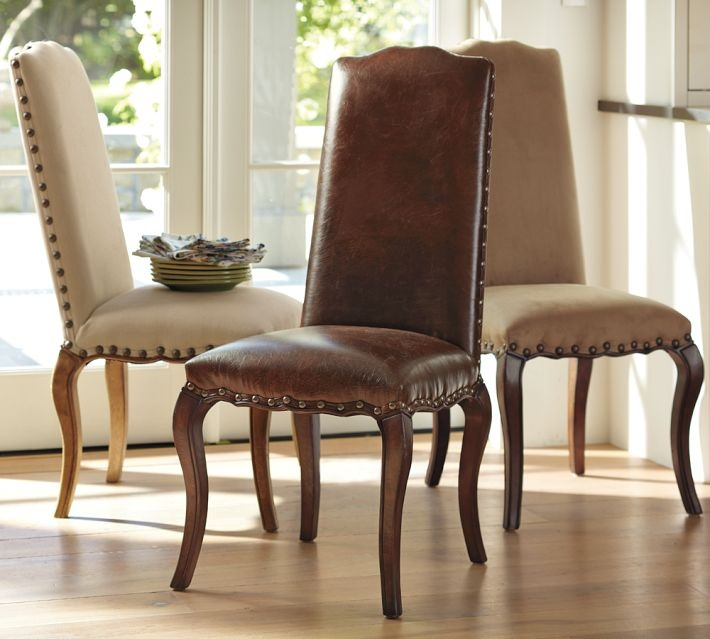 pottery barn calais chair dining rooms pinterest