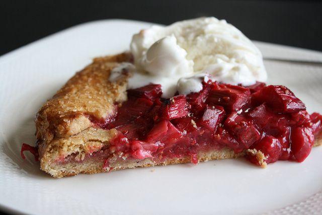 Rhubarb And Raspberry Crostata Recipes — Dishmaps