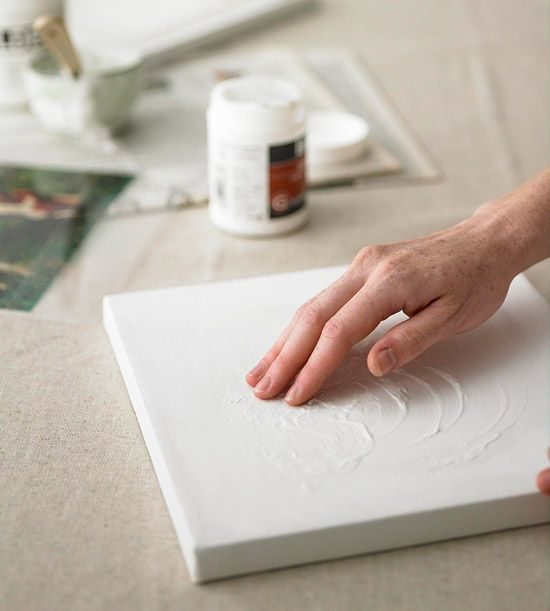 Из чего сделать холст для картины своими руками